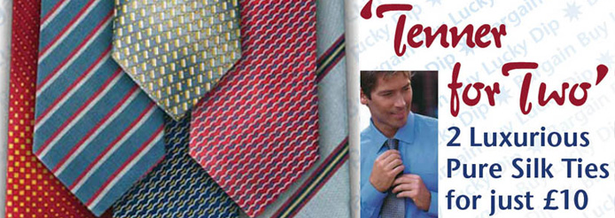 Buy 1 Ties FREE 1