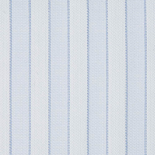 Buy tailor made shirts online - Egyptian Cotton - EC Pale Blue Stripe