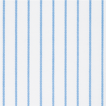Buy tailor made shirts online - Cliveden - Narrow Blue Stripe