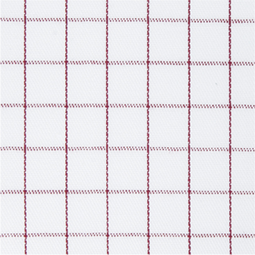 Buy tailor made shirts online - Cliveden - Thin Burgundy Check
