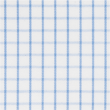 Buy tailor made shirts online - Cliveden - Narrow Blue Check