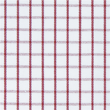 Buy tailor made shirts online - Cliveden - Narrow Burgundy Check