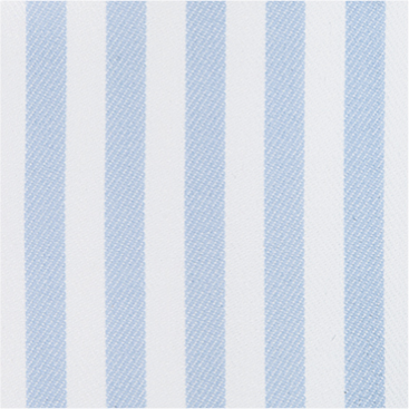 Buy tailor made shirts online - Egyptian Cotton - Pale Blue Broad Stripe