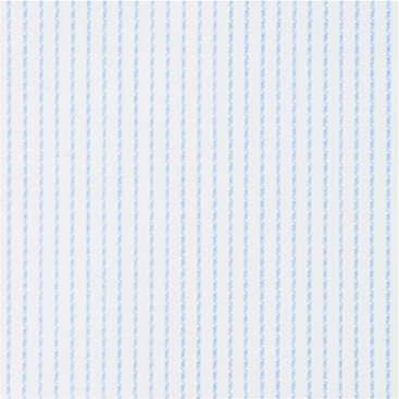 Buy tailor made shirts online - Egyptian Cotton - Blue Fine Stripe