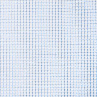 Buy tailor made shirts online - Egyptian Cotton - Blue Fine Check