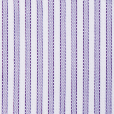 Buy tailor made shirts online - Egyptian Cotton - Lined Mauve Stripe