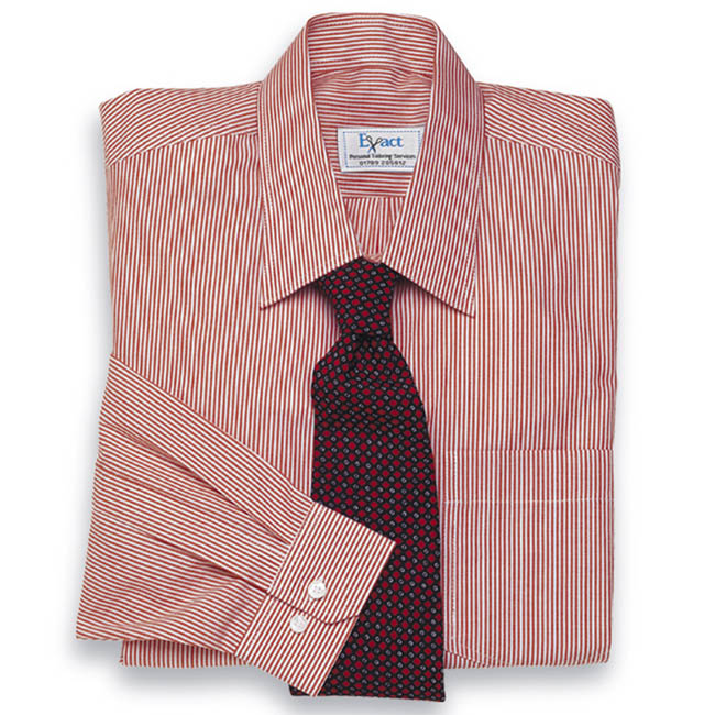 Buy tailor made shirts online - Traditional Stripes - Classic Red