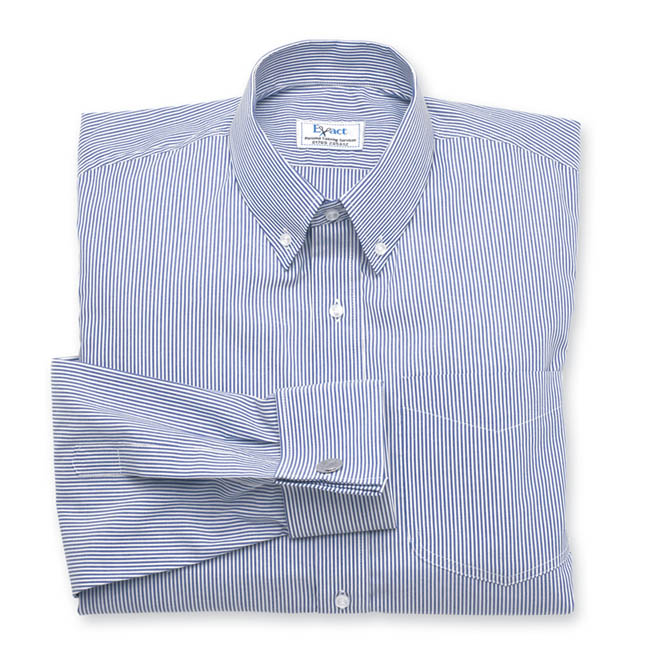 Buy tailor made shirts online - Traditional Stripes - Classic Blue