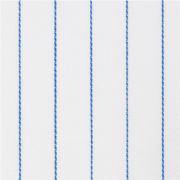 Buy tailor made shirts online - Cliveden (CLEARANCE) - Thin Blue Broad Stripe