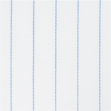 Buy tailor made shirts online - Cliveden (CLEARANCE) - Thin Light Blue Broad Stripe