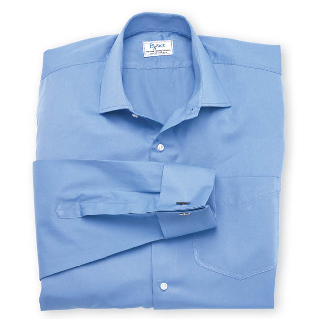 Buy tailor made shirts online - Twickenham - Blue