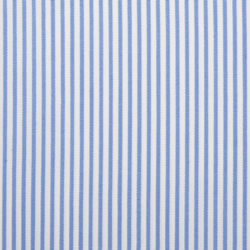 Buy tailor made shirts online - Executive Club - Sky Blue White Stripe