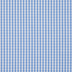 Sky Blue White Check