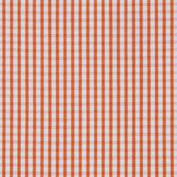 Orange White Check