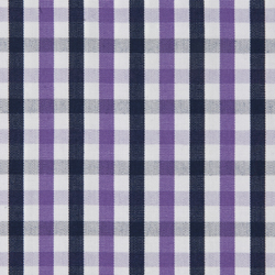 Buy tailor made shirts online - Executive Club - Navy Purple Check