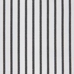 Buy tailor made shirts online - Wymark Collection - Black on White Stripe