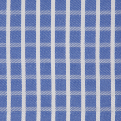 Buy tailor made shirts online - Wymark Collection - White Sea Blue Check