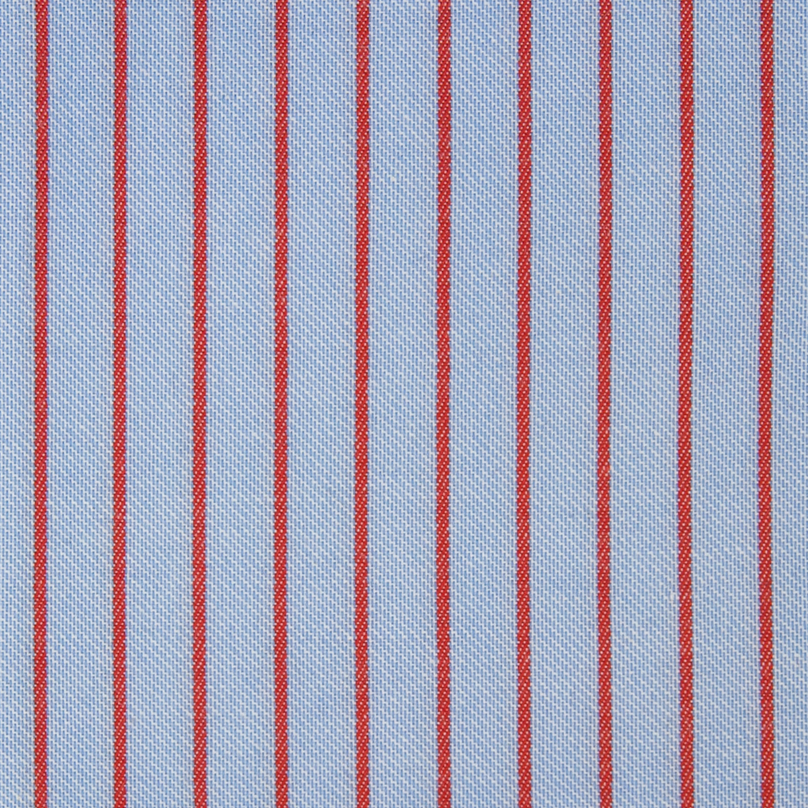Buy tailor made shirts online - Arturo Collection - Red Stripe on Blue