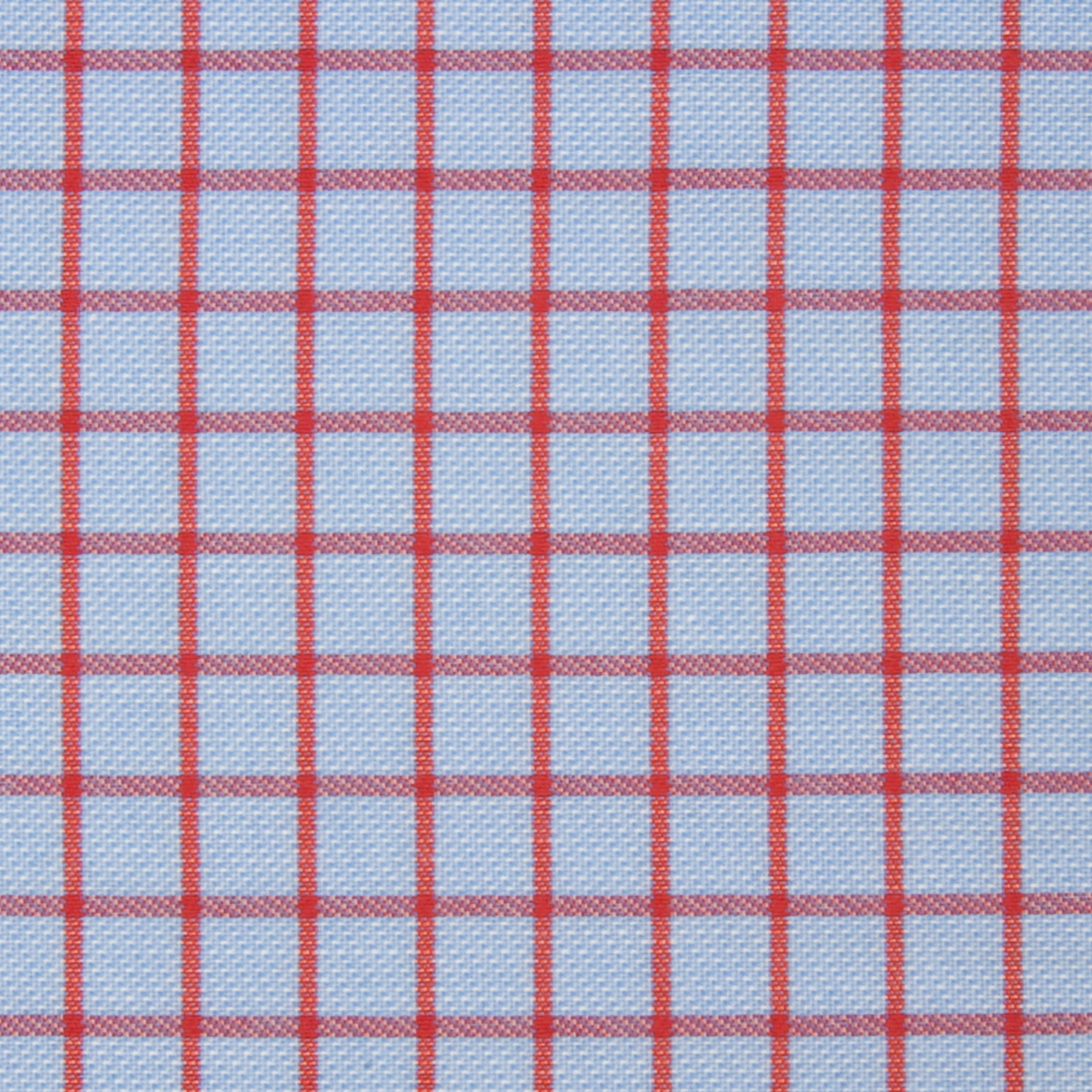 Buy tailor made shirts online - Arturo Collection - Red Check on Blue
