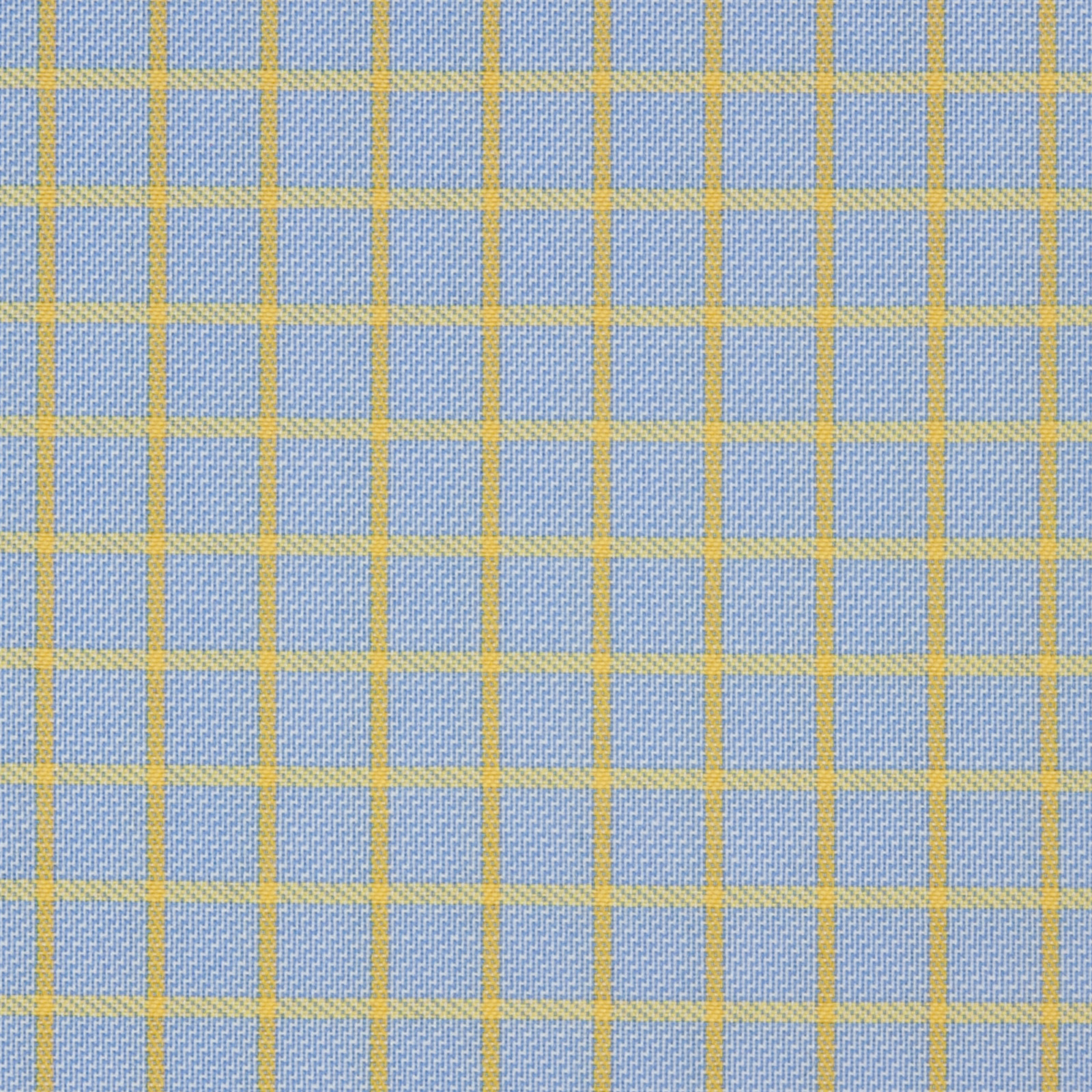 Buy tailor made shirts online - Arturo Collection - Yellow Check on Grey