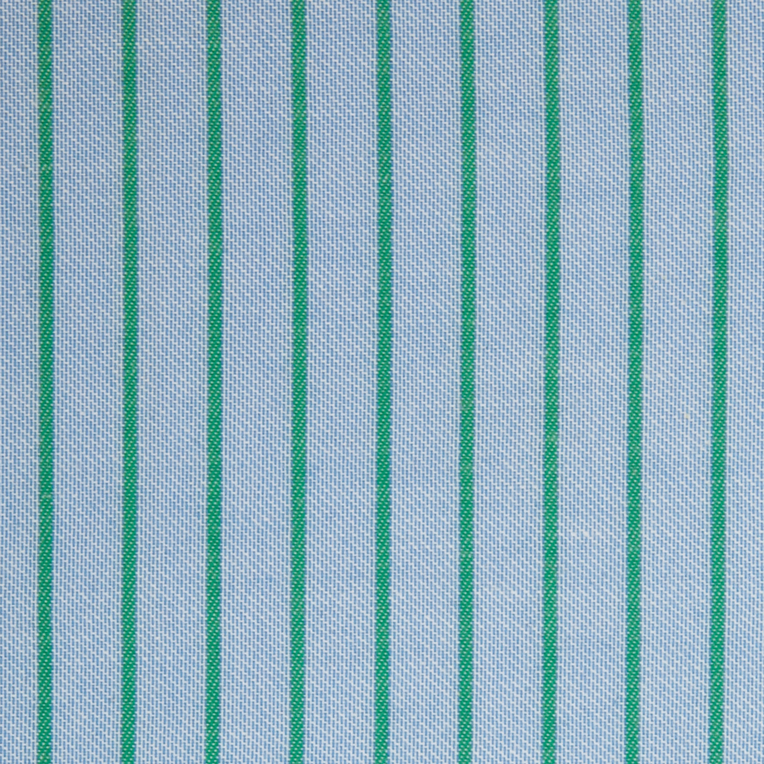 Buy tailor made shirts online - Arturo Collection - Green Stripe on Blue