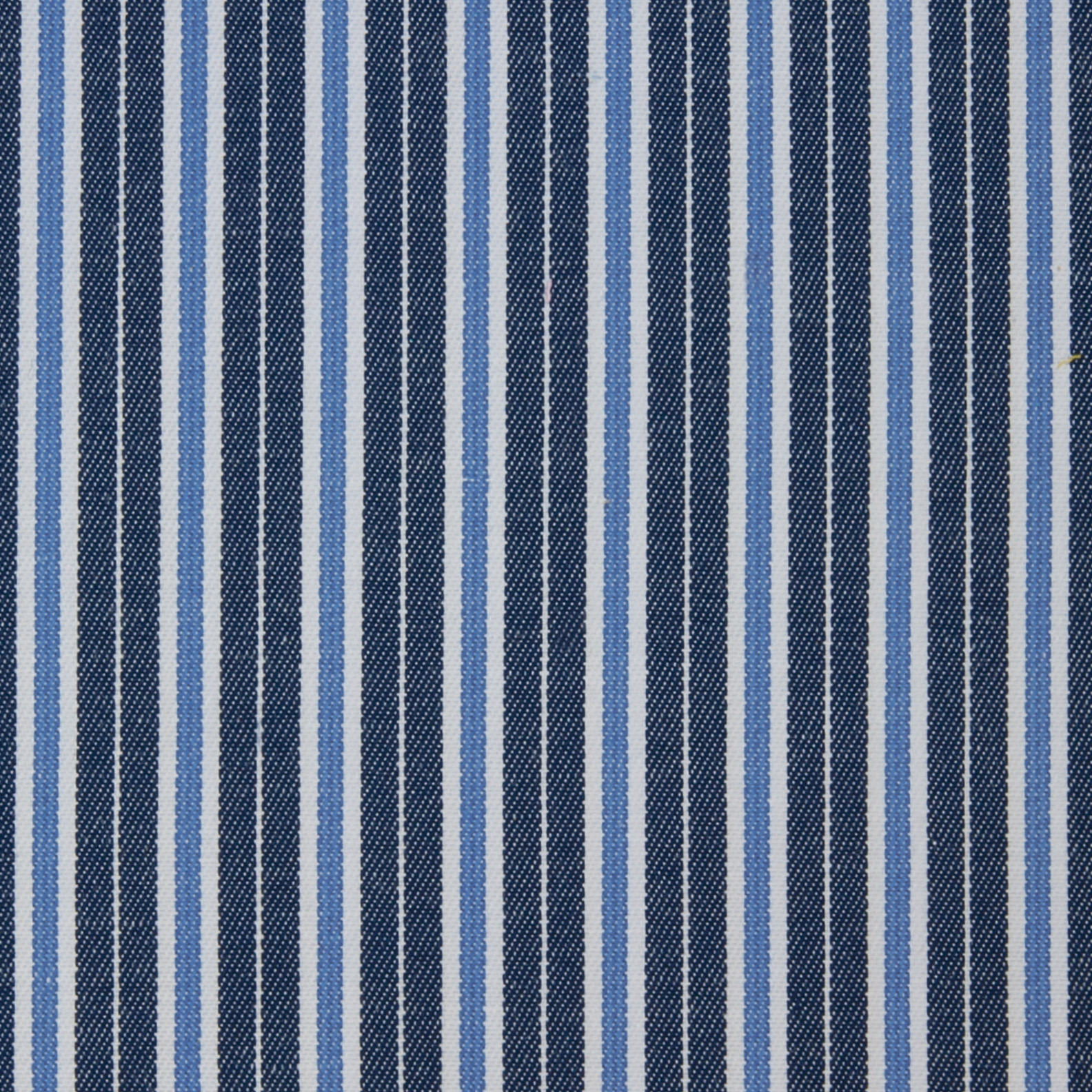 Buy tailor made shirts online - Arturo Collection - Navy, White and Blue Stripes