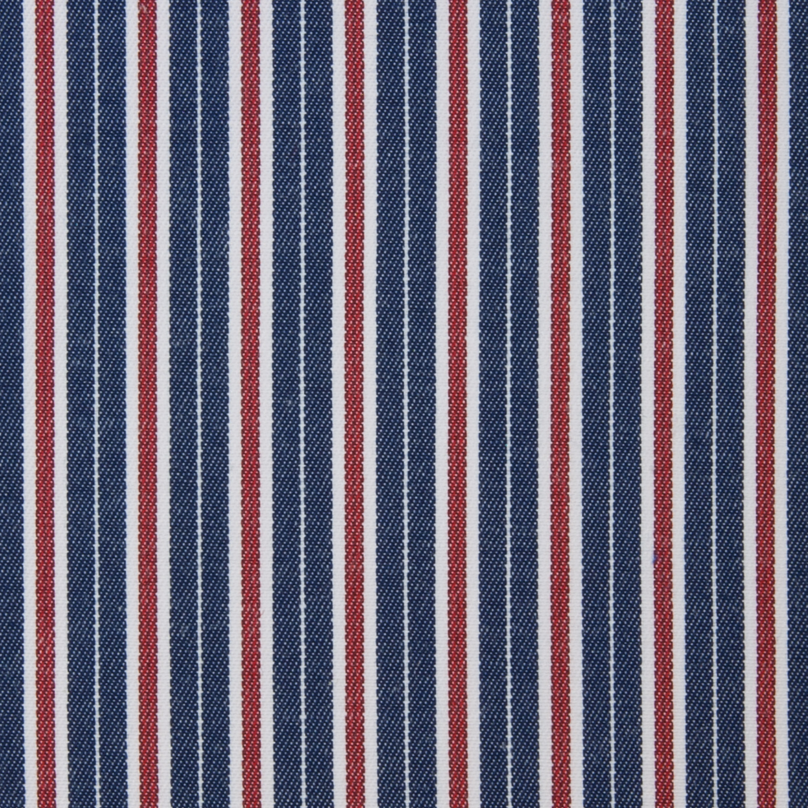 Buy tailor made shirts online - Arturo Collection - Red, White and Blue Stripes