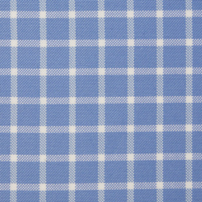 Buy tailor made shirts online - Bellagio Edition - Light Blue with White Check