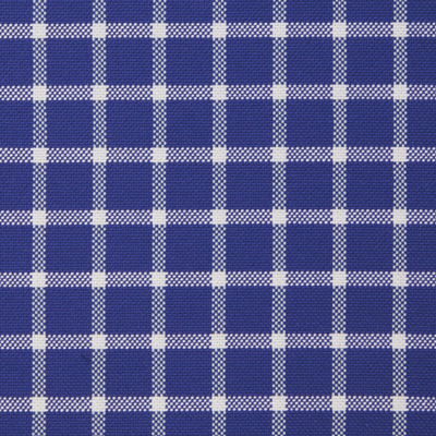 Buy tailor made shirts online - Bellagio Edition - Royal Blue with White Check