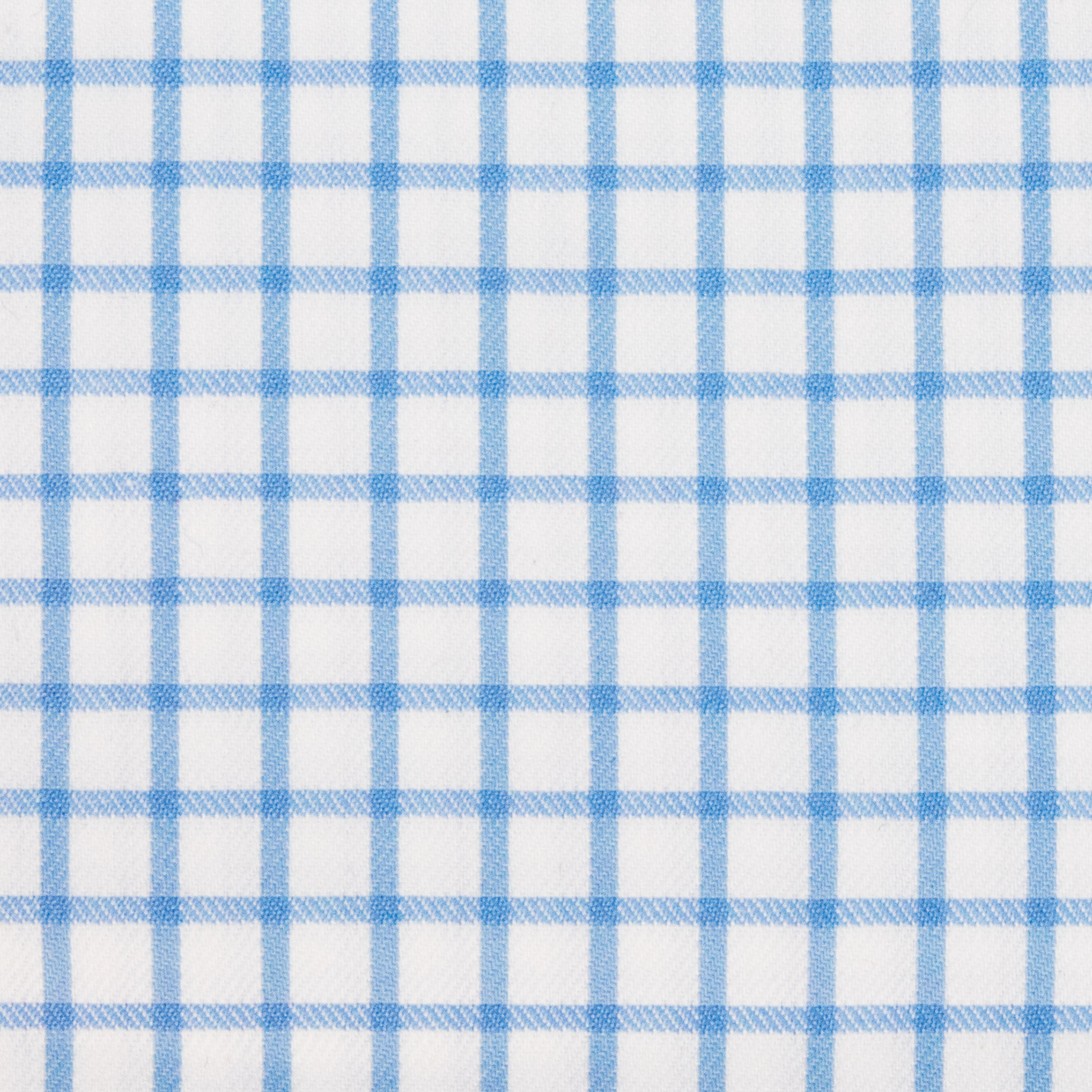 Buy tailor made shirts online - Antonio Range - Sky Blue Check