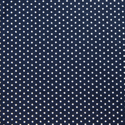 Buy tailor made shirts online - Mauritius  - Navy with Polka Dots