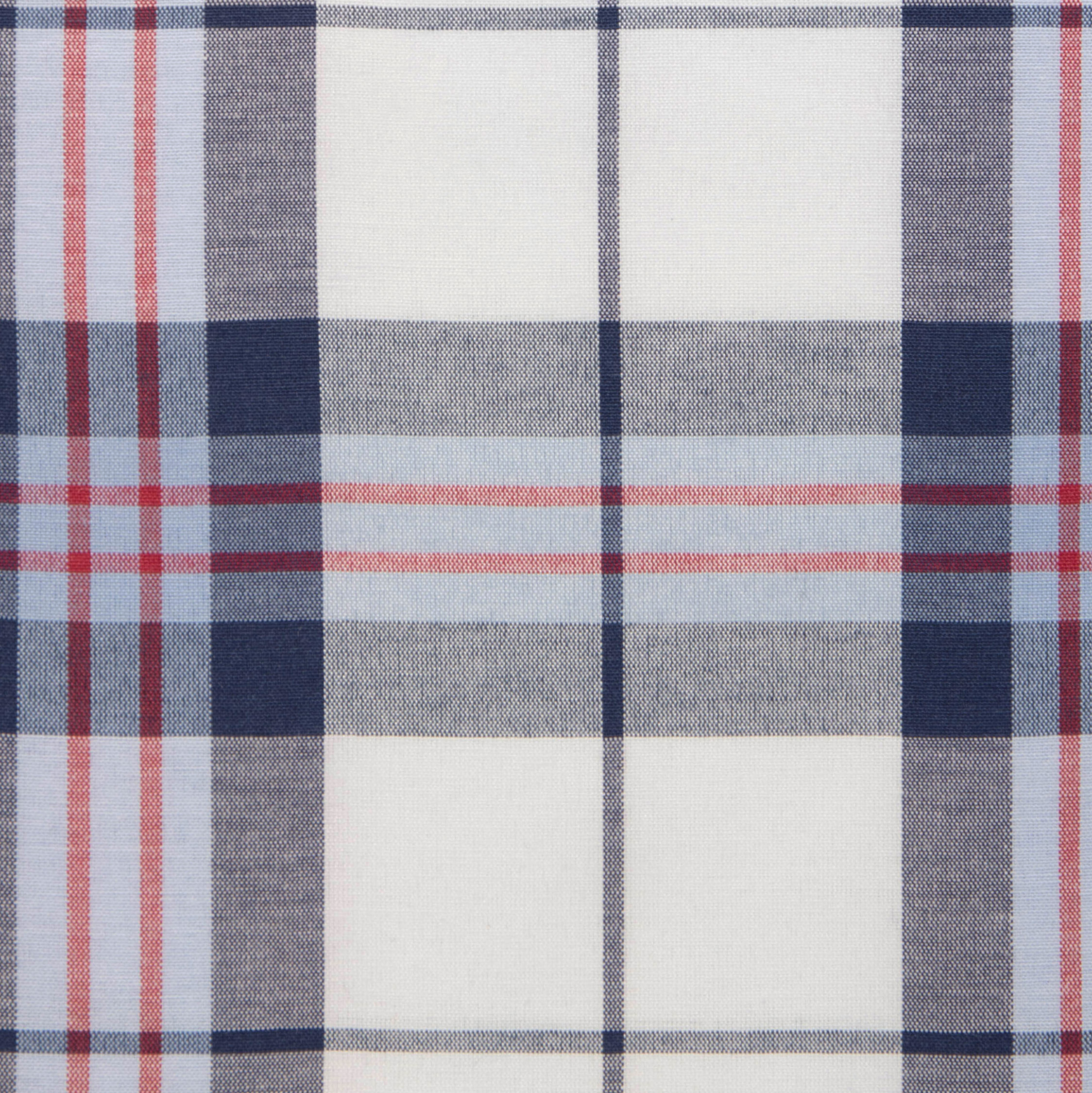 Buy tailor made shirts online - Texas Country Checks - Black, Pale Blue, Red Check