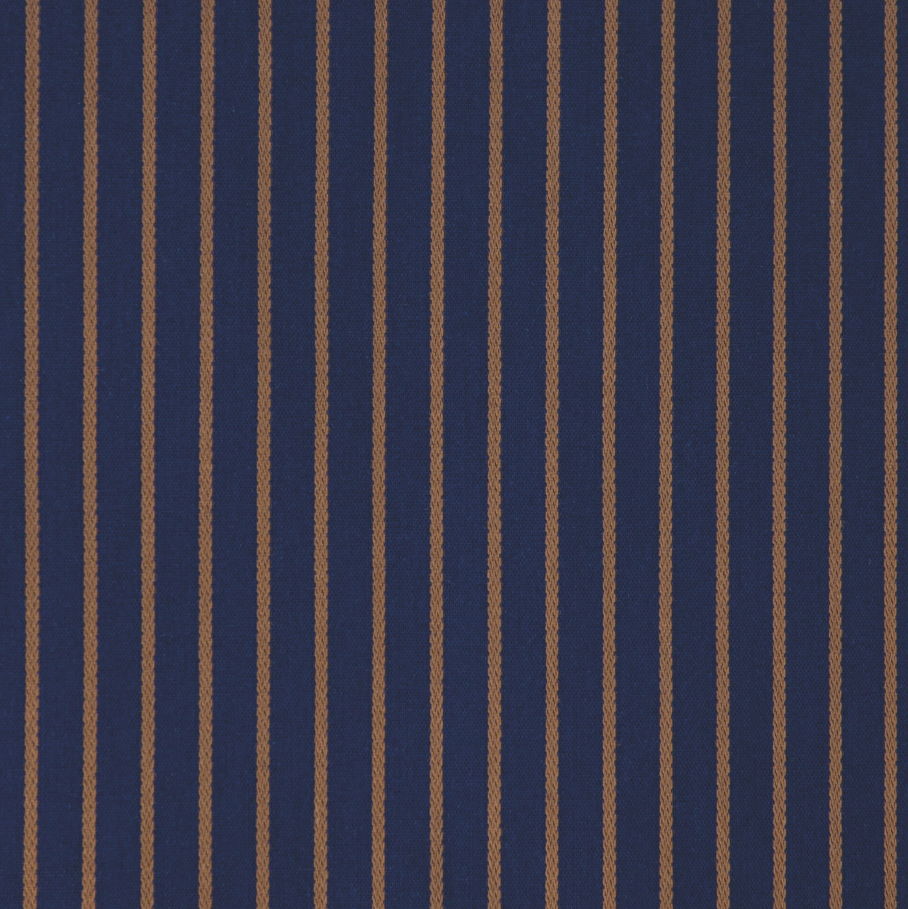 Buy tailor made shirts online - Presidents Range - Navy with Tan Stripe