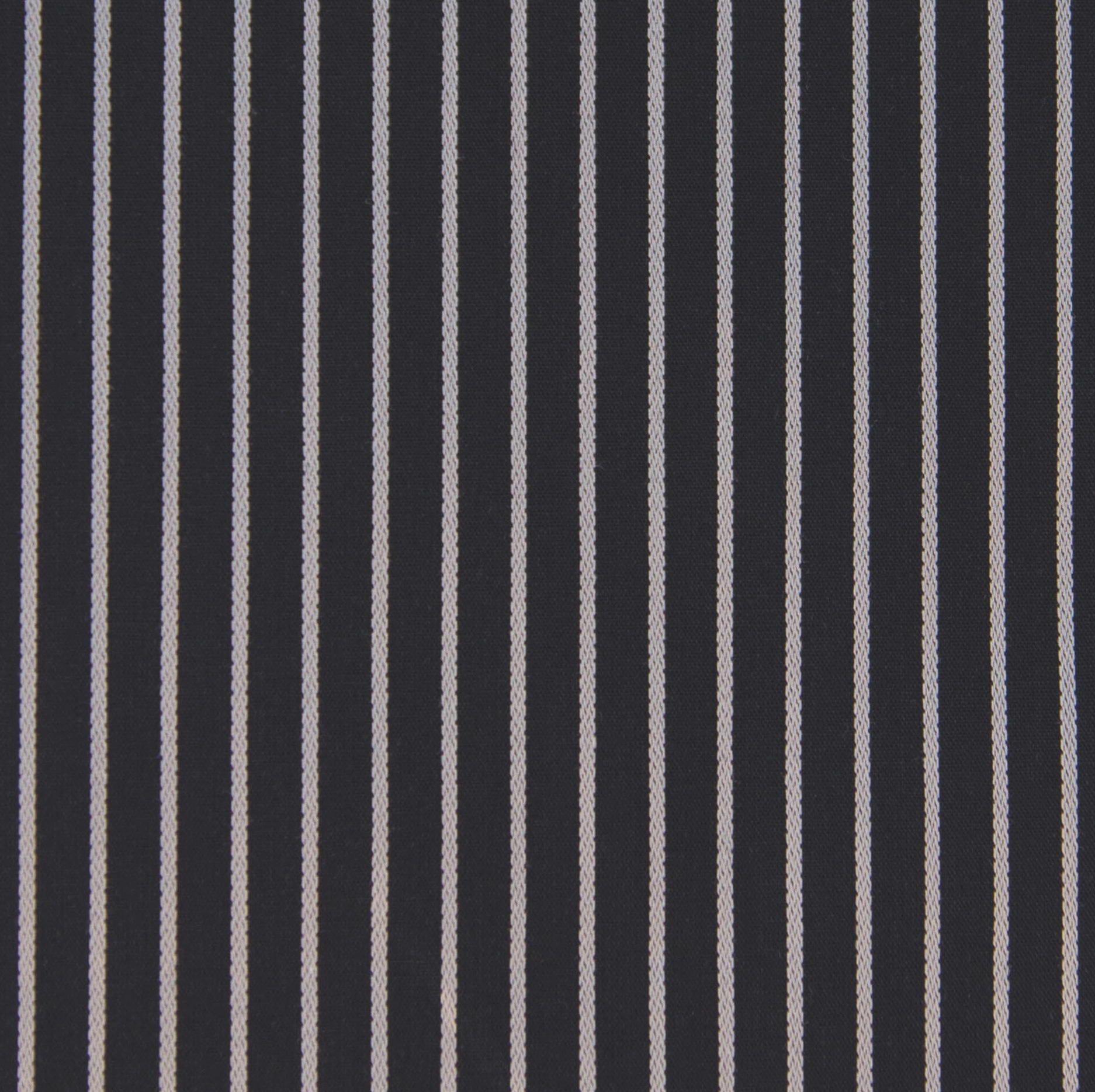 Buy tailor made shirts online - Presidents Range - Black with Grey Stripe