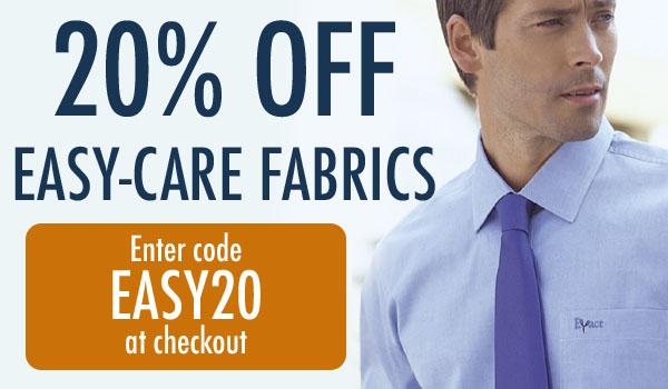 20% Off Easy-care Fabrics