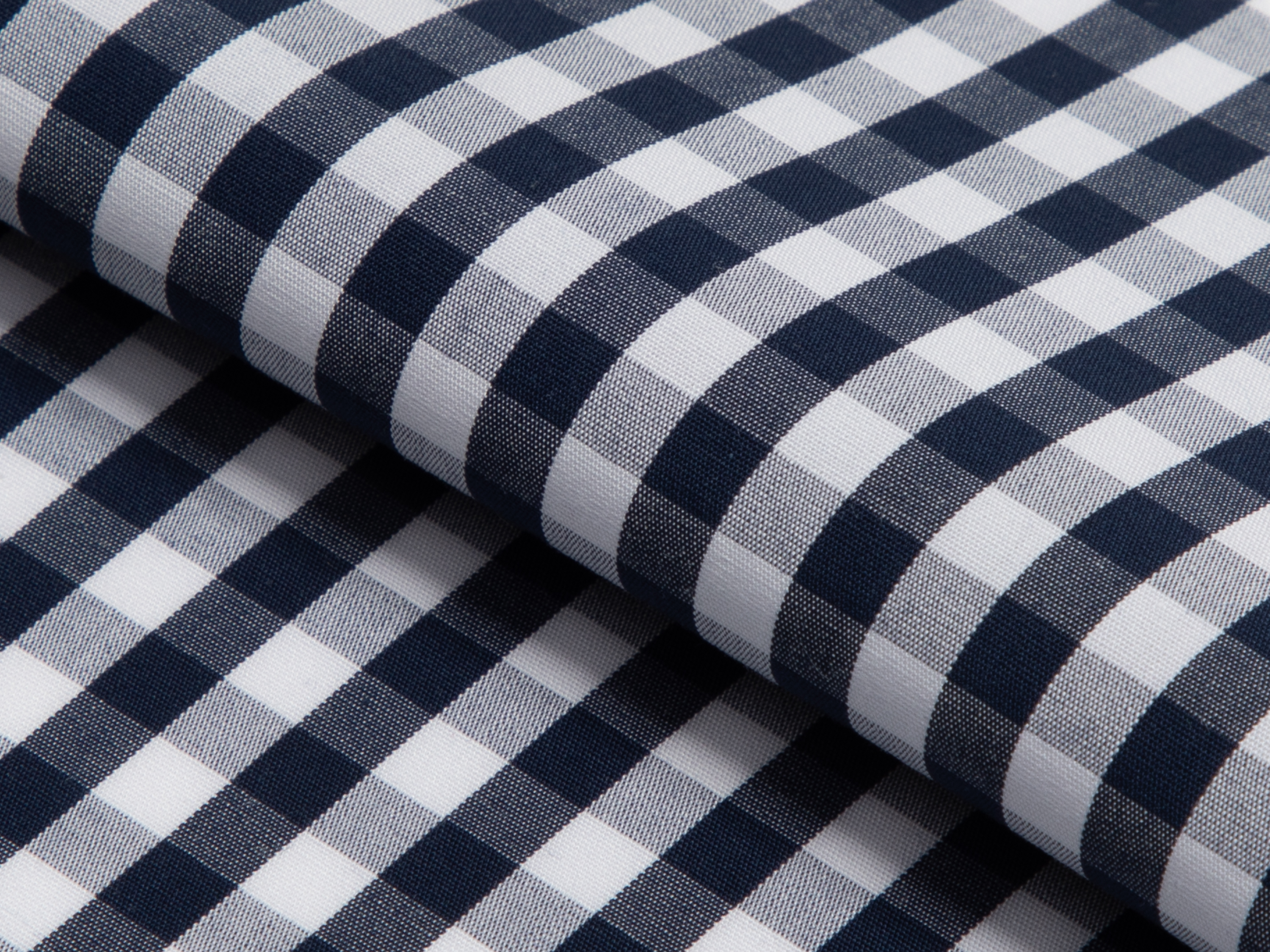 Buy tailor made shirts online - GINGHAM LUXURY  - Gingham Navy