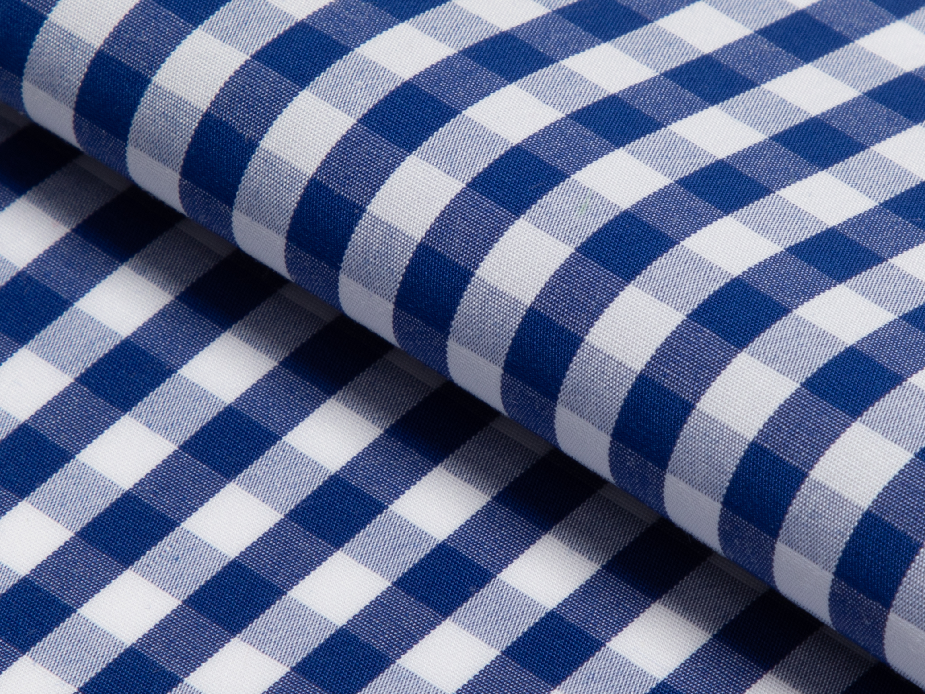 Buy tailor made shirts online - GINGHAM LUXURY  - Gingham Royal Blue