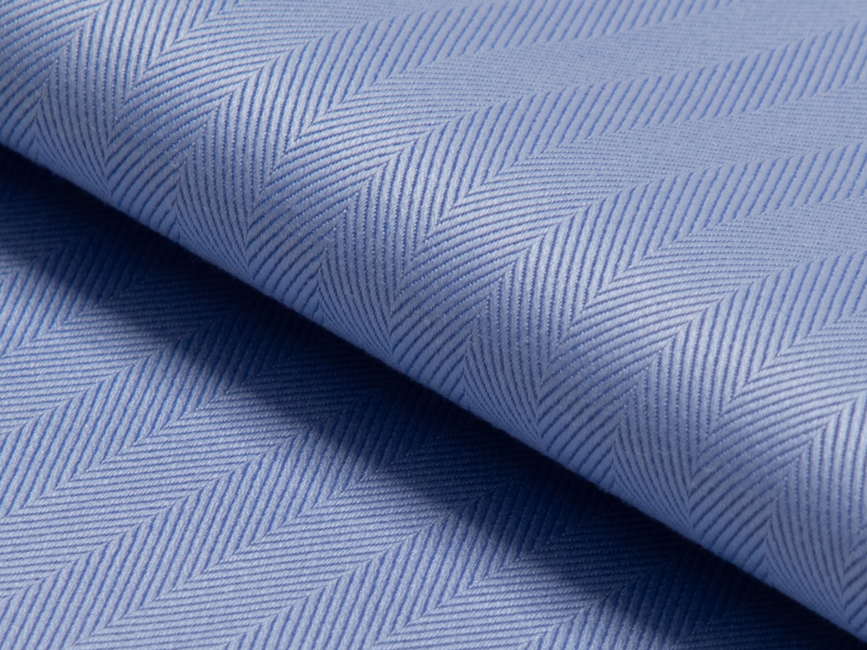Buy tailor made shirts online - MAYFAIR - Herringbone Blue