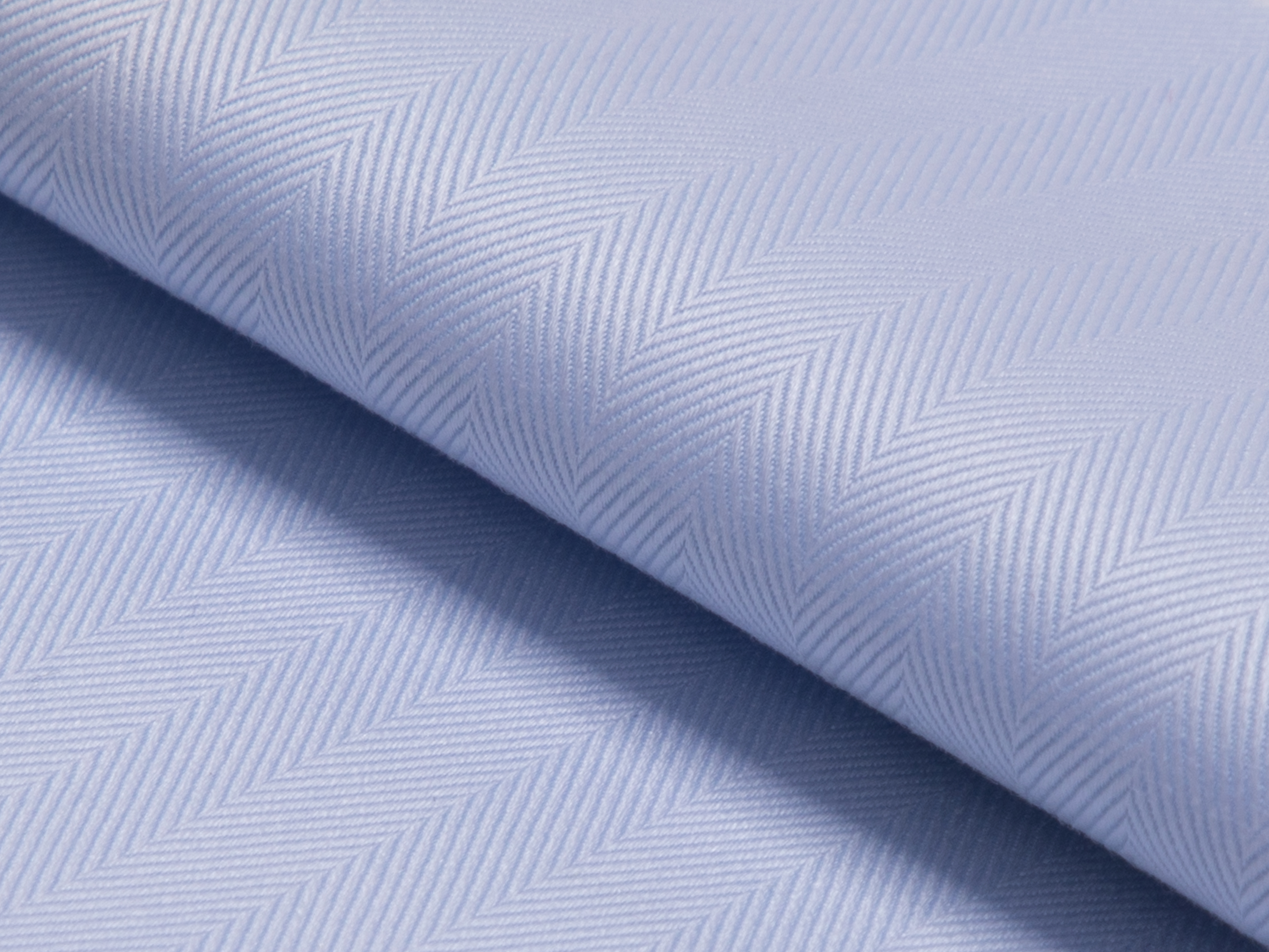 Buy tailor made shirts online - MAYFAIR - Herringbone Light Blue